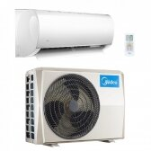 MIDEA MULTISPLIT oro kondicionierius su sieniniu vidiniu bloku 2-iems kambariams (su pasirinkimais)