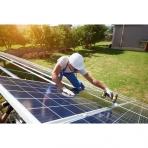 Saulės elektrinės montavimas